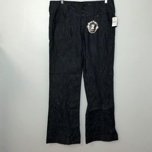 Kut from the Kloth Wide Leg Jeans Sz 14 NWT